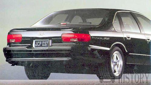Chevrolet - Chevrolet Impala 7th gen (1994–1996)