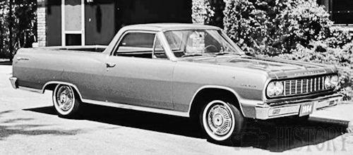 Chevrolet El Camino Second generation history