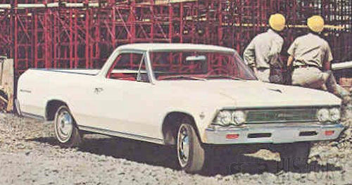 1966 Chevrolet El Camino Second generation