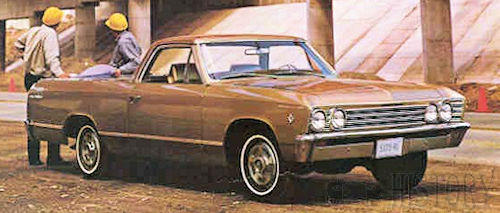 1967 Chevrolet El Camino Second generation