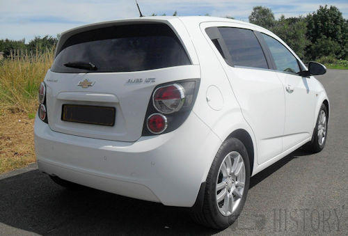 Chevrolet Aveo Second generation rear