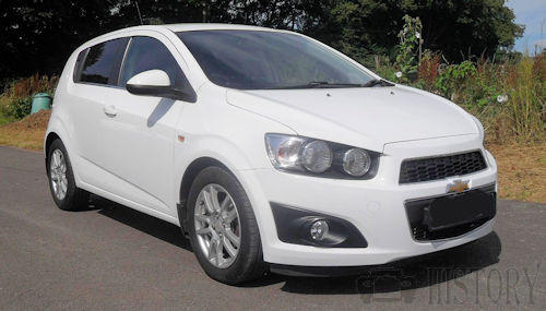 Chevrolet Aveo Second generation