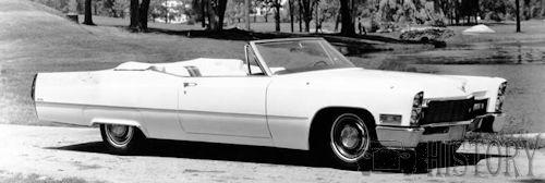 Cadillac de Ville Convertible Third Generation 1968