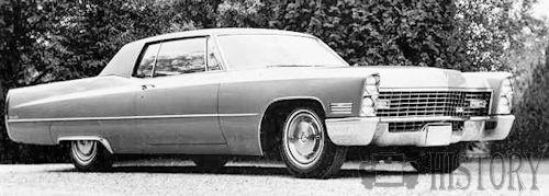 Cadillac Coupe de Ville Third Generation 1967