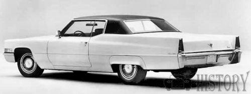 Cadillac Coupe de Ville Third Generation 1969