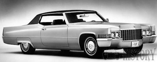 Cadillac Coupe de Ville Third Generation 1970