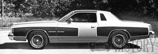 Dodge Charger Fourth Generation 1977 Daytona side view