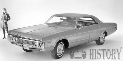 Dodge Polara Fourth generation 1972 Custom