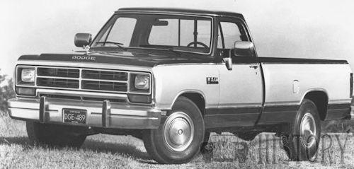 Dodge Ram truck First Generation 1989