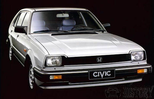 Honda civic 2nd gen