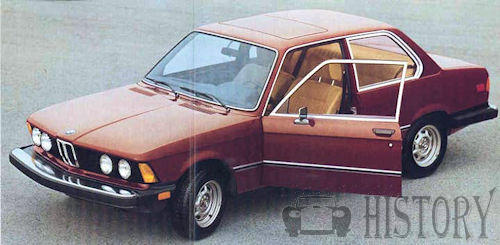 BMW - BMW 3 Series E21 (1975-1983)-Motor Car History