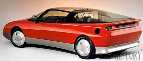Saab EV-1 Concept Car rear view