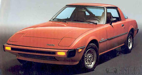 Mazda RX-7 First generation history
