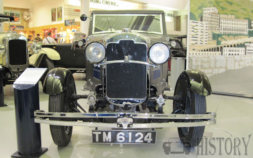 "1929 Rover Light Six ""Blue Train"" Car"