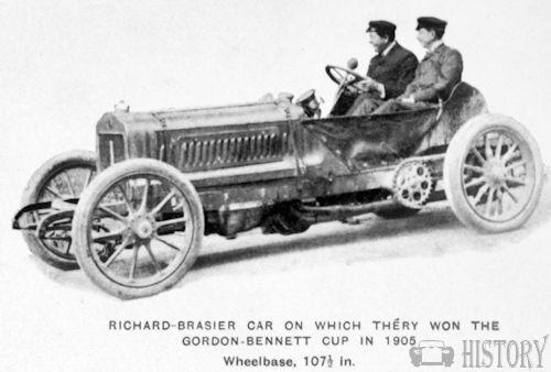 Gordon Bennett Cup 1905 winner