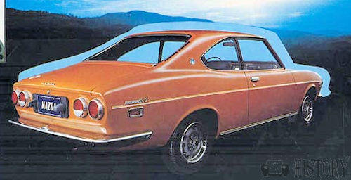 Mazda Capella RX-2 First Generation coupe rear
