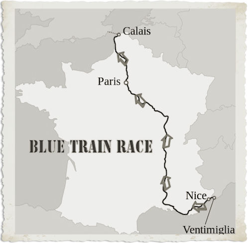 Blue Train Race
