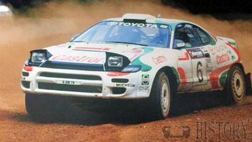 Toyota Celica Fifth generation GT-FOUR-CARLOS-SAINZ-RALLY