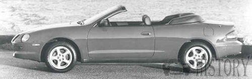 Toyota Celica Sixth generation convertible side