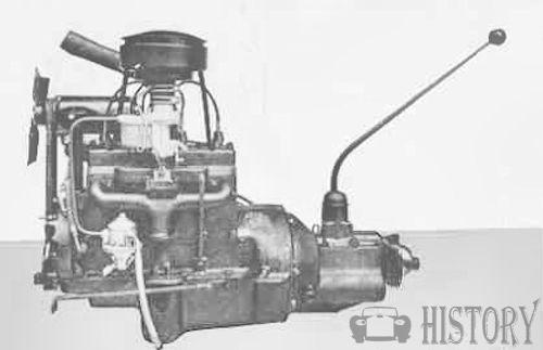 Ford Prefect E493A engine view