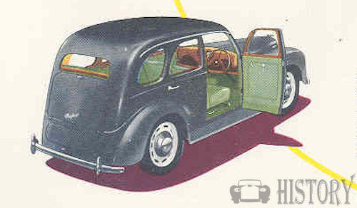 Ford Prefect E493A rear view