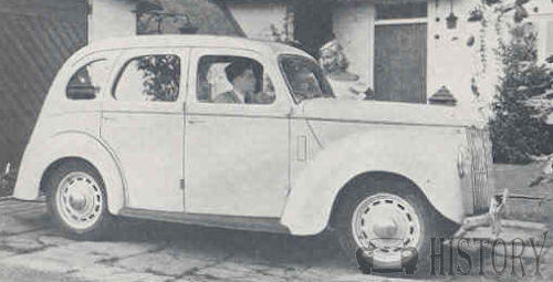 Ford Prefect E493A side view