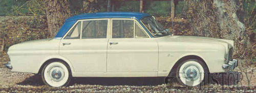 Ford Taunus P4 12m side view 1963