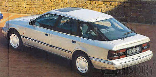 Ford Scorpio First Generation rear view