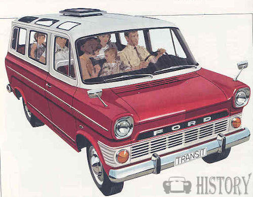 Ford Transit First generation bus