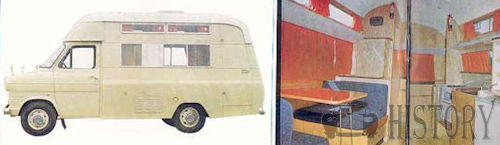 Ford Transit First generation camper
