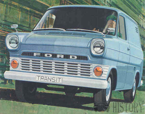 Ford Transit First generation history