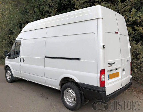 Ford Transit Fifth generation rear view high top