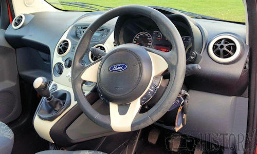 Ford Ka Second generation dash
