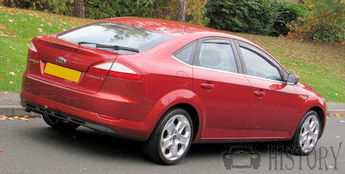 Ford Mondeo Mark 4 2008 rear view
