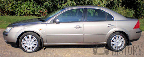 Ford Mondeo Mark 3 Third Generation side