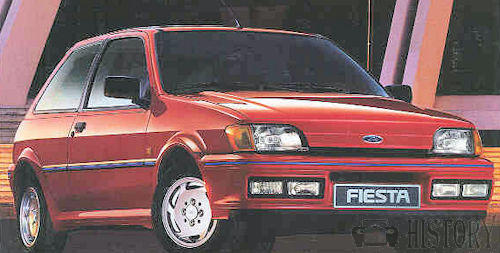 Ford Fiesta 3rd Generation XR2i