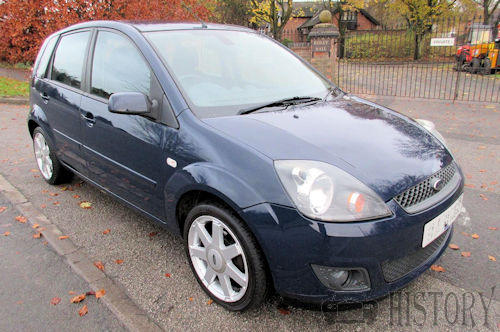 Ford Fiesta Mk 5 Fifth Generation facelift