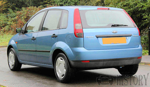 Ford Fiesta Mk 5 Fifth Generation rear view