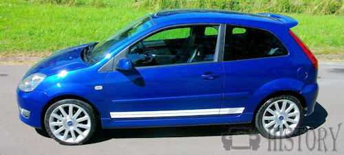 Ford Fiesta Mk 5 Fifth Generation ST side