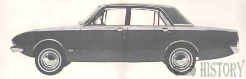 Ford Consul Corsair side view