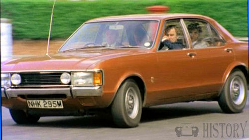 The Sweeney TV series Ford Consul