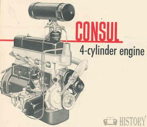 Ford Consul Mk1 engine