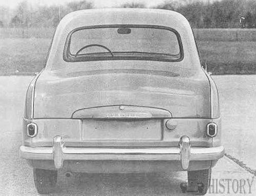 Ford Consul Mk1 rear view