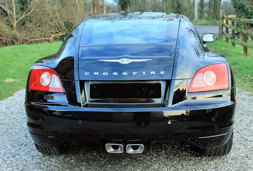 Chrysler Crossfire coupe rear