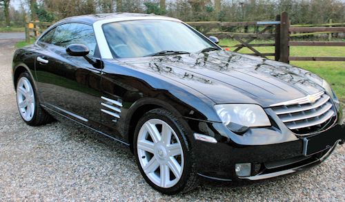 Chrysler Crossfire range and history