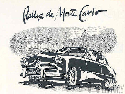 Monte Carlo Rally history