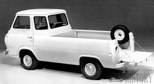 Ford Econoline Van First Generation Pickup rear 1961
