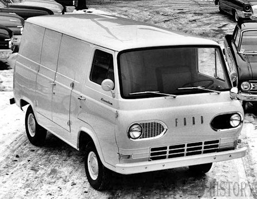 Ford Econoline Van First Generation history