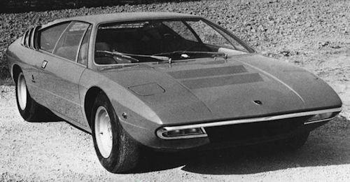Lamborghini Lamborghini Urraco 1973 1979