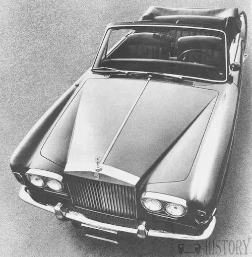 Rolls Royce Silver Shadow mulliner convertable 1969